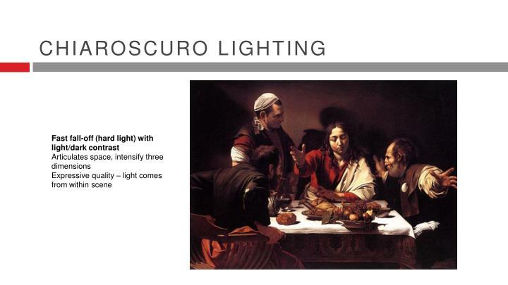 Chiaroscuro Lighting