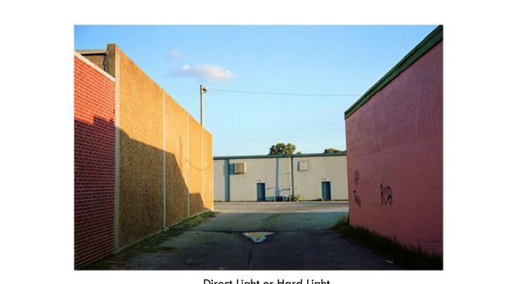 Direct Light or Hard Light