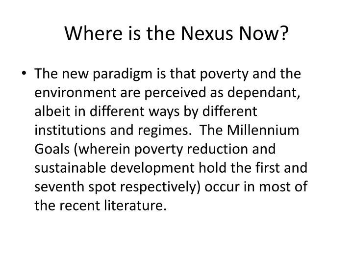 Where is the Nexus Now?