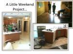 a little weekend project