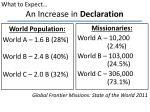 an increase in declaration1