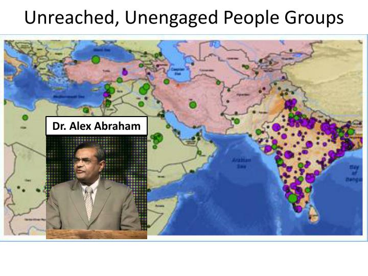 Unreached, Unengaged People Groups