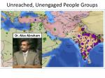 unreached unengaged people groups