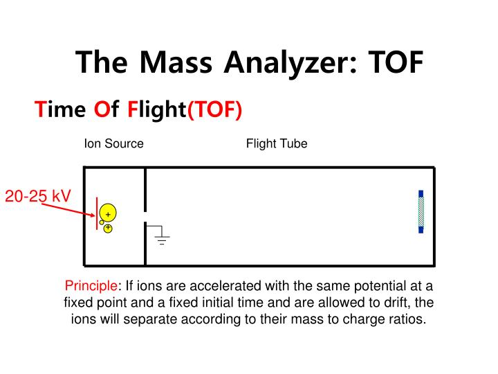 The Mass Analyzer: TOF