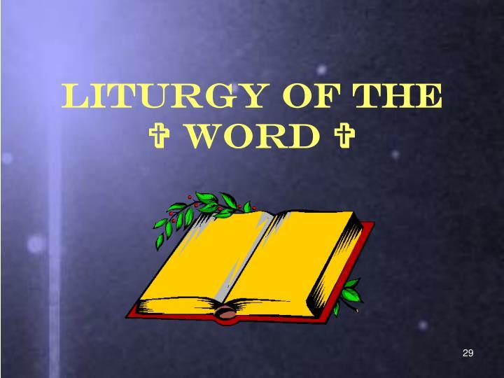 Liturgy of the