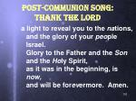post communion song thank the lord1