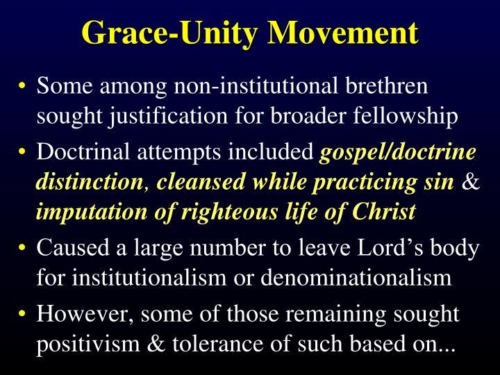 Grace-Unity Movement