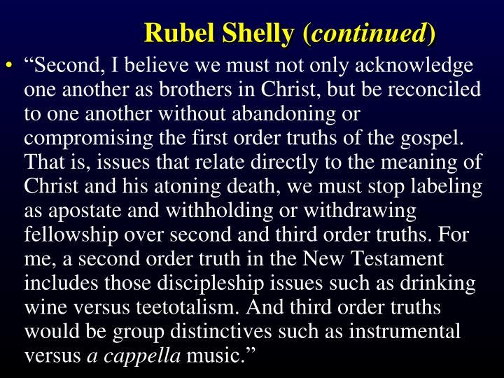 Rubel Shelly (