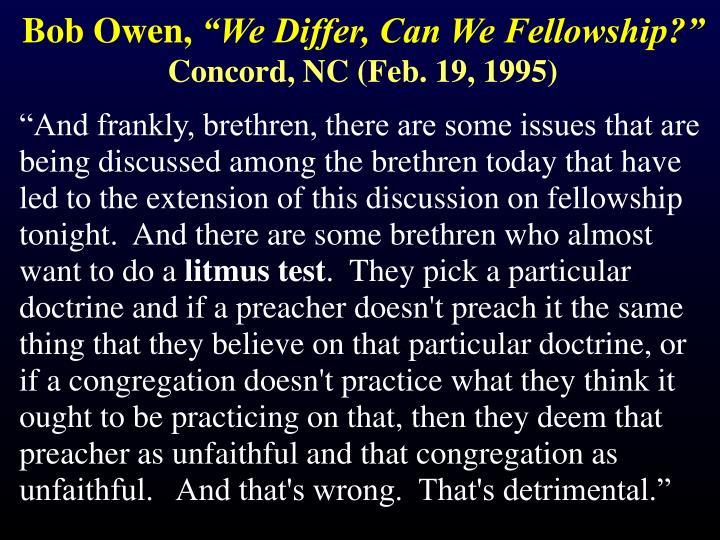 Bob Owen,