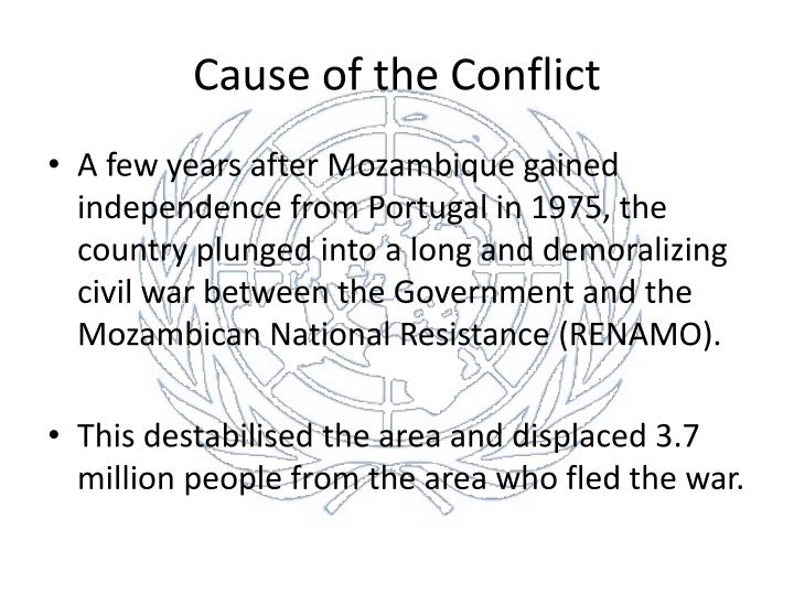 Cause of the conflict