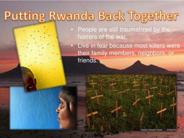 Putting Rwanda Back Together
