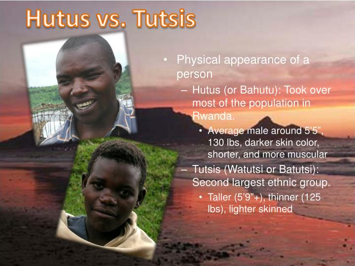 Hutus vs. Tutsis