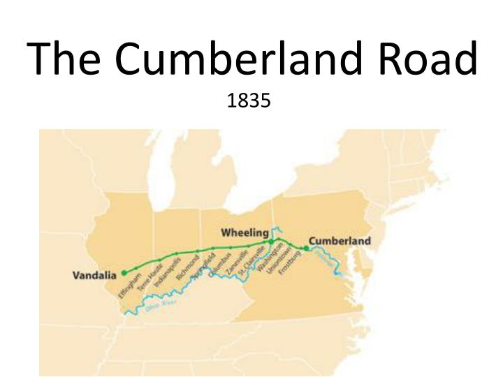The cumberland road