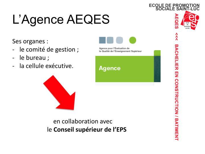 L'Agence AEQES