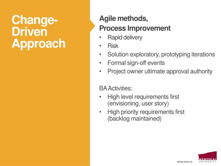 Agile methods,