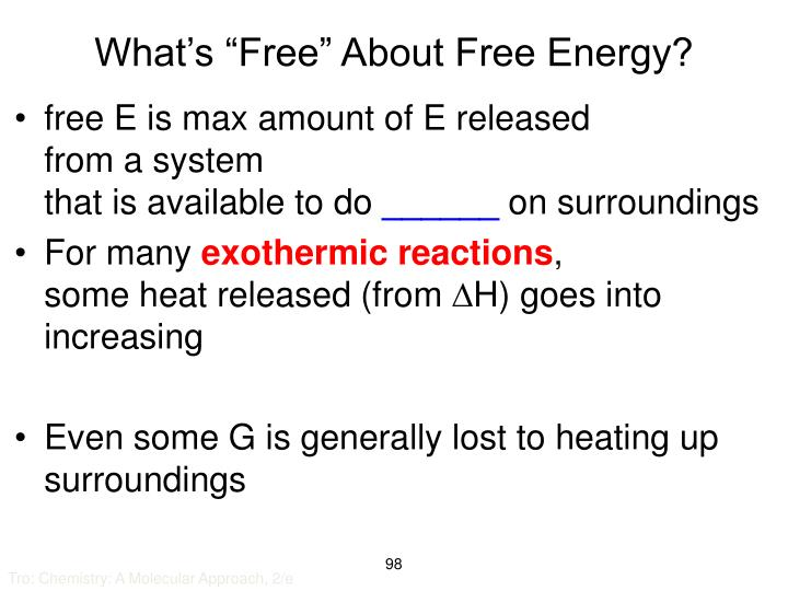 "What's ""Free"" About Free Energy?"
