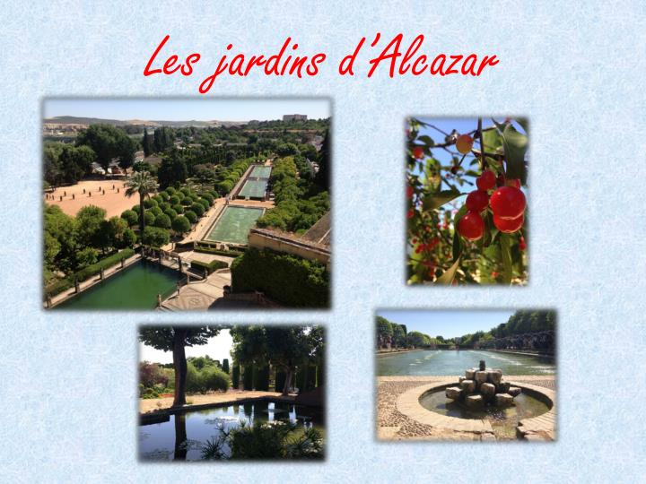Les jardins d'Alcazar
