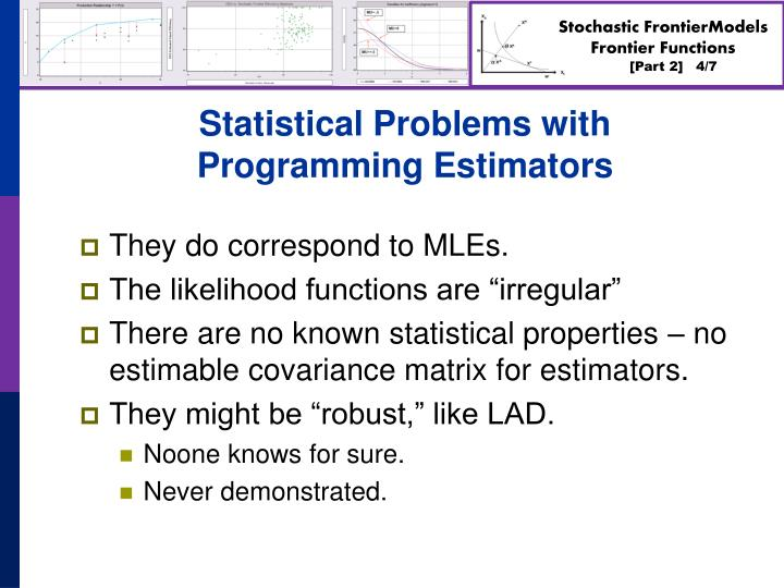 Statistical Problems with