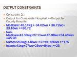 output constraints1
