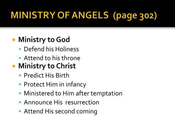 MINISTRY OF ANGELS  (page 302)