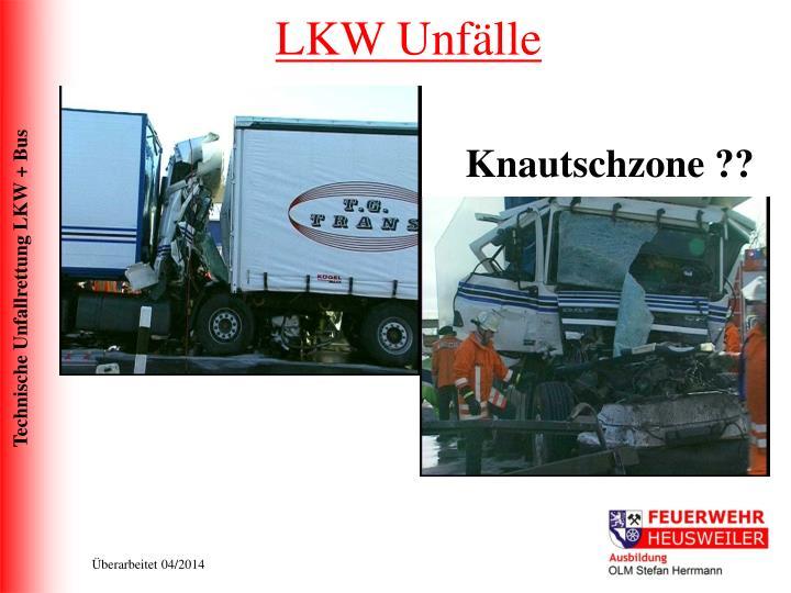 LKW Unfälle