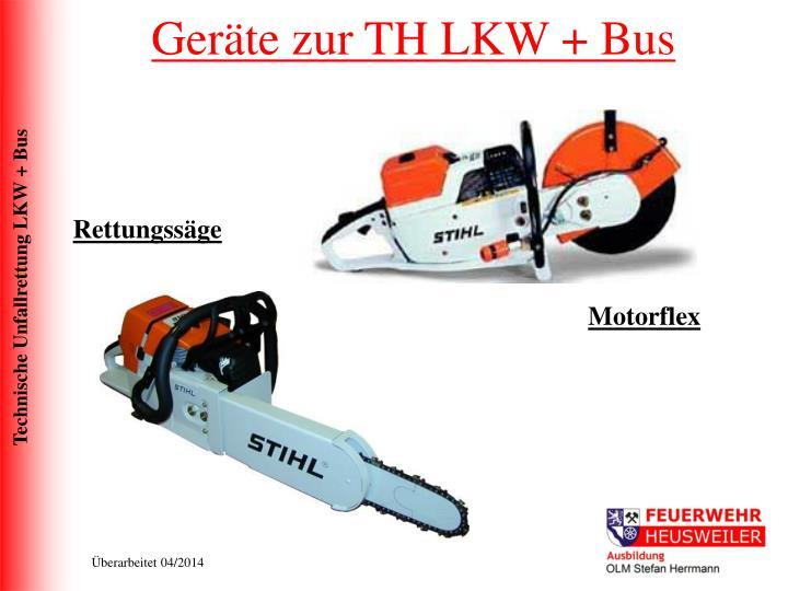 Geräte zur TH LKW + Bus