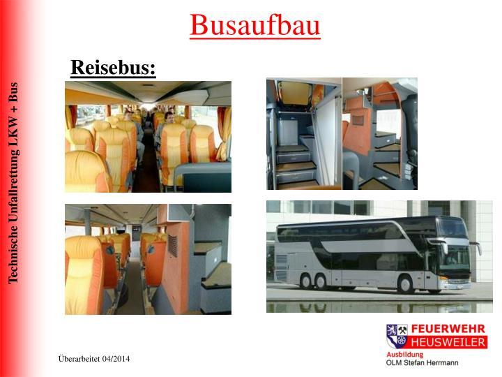 Busaufbau