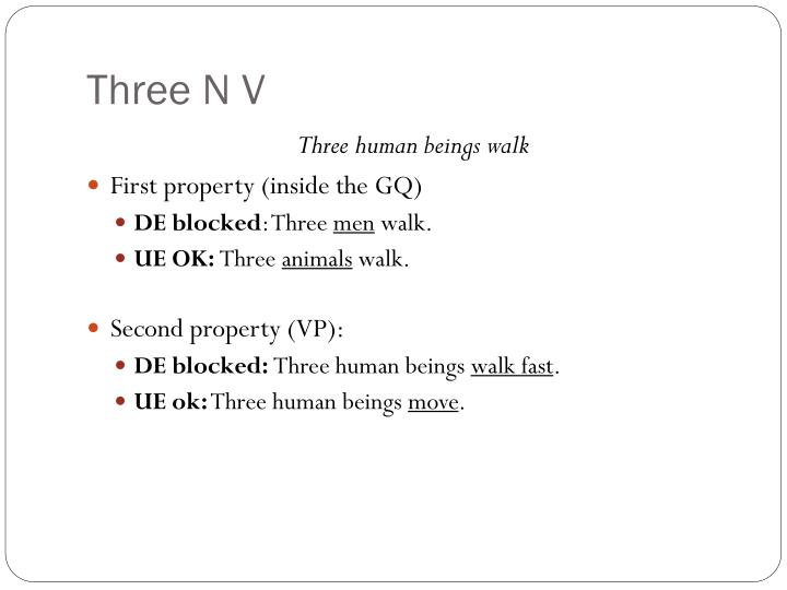 Three N V