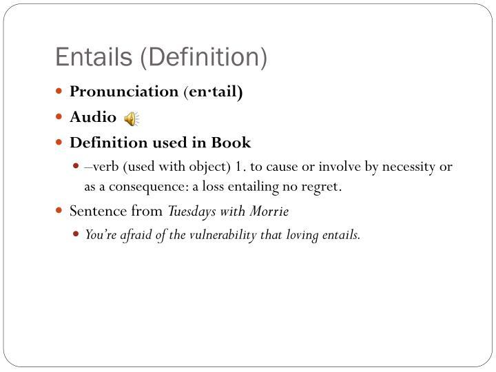 Entails (Definition)