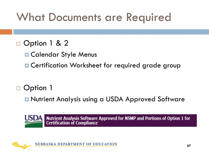 What Documents are Required