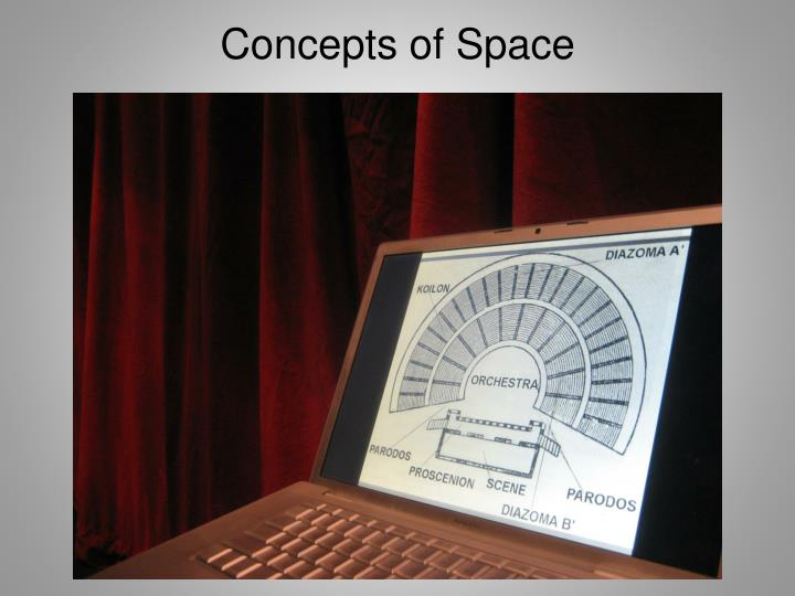 Concepts of Space