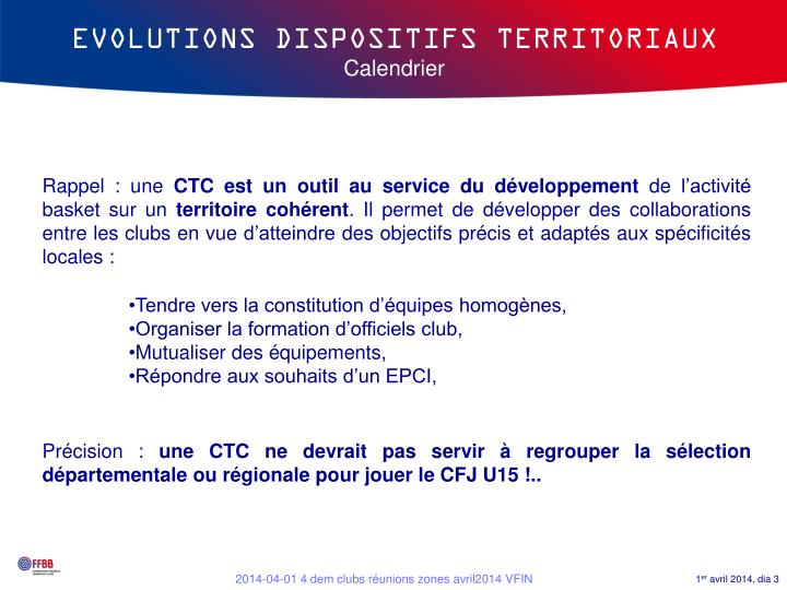 Evolutions dispositifs territoriaux calendrier1