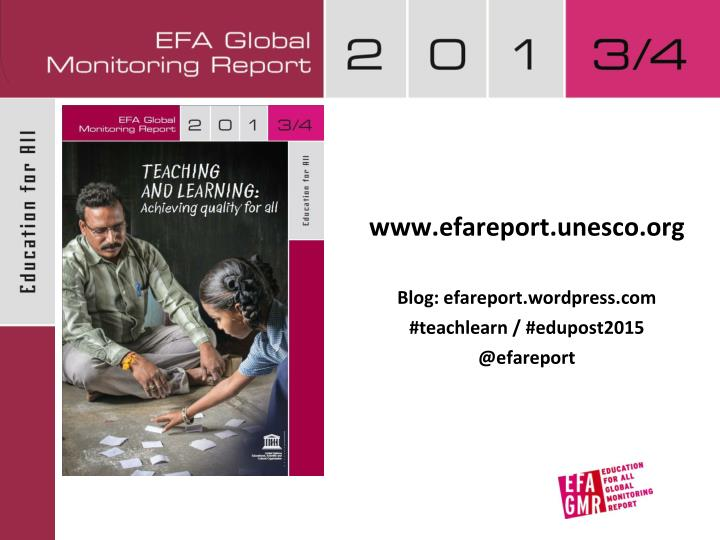 www.efareport.unesco.org