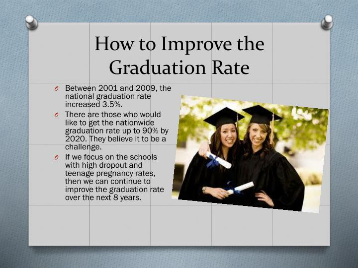 How to Improve the Graduation Rate