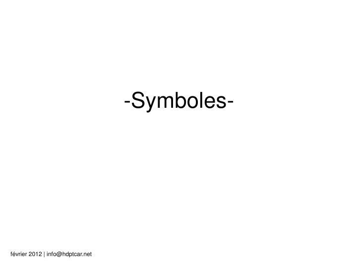 -Symboles-