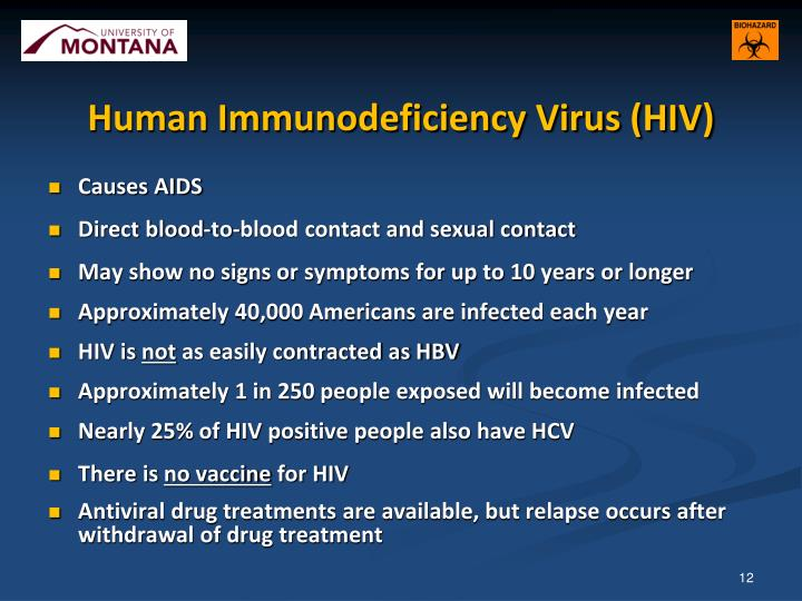 an introduction to the hiv virus human immunodeficiency virus that causes aids • conflict causes declining  a chronic immune system disease caused by hiv (human immunodeficiency virus),  the impact of aids on agriculture - introduction.