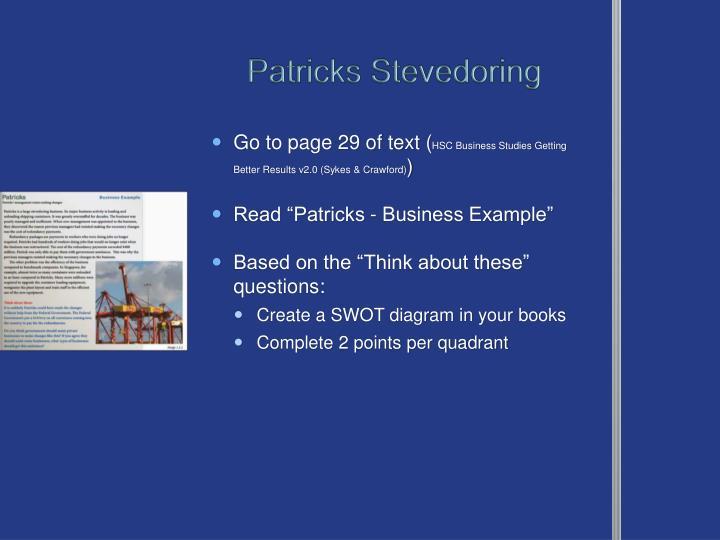Patricks Stevedoring