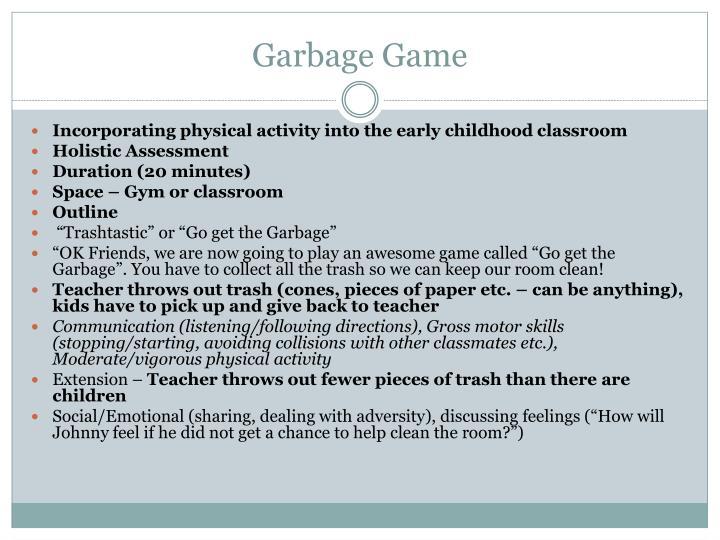 Garbage Game