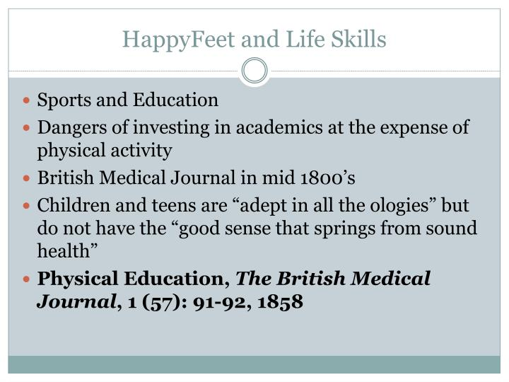 HappyFeet and Life Skills