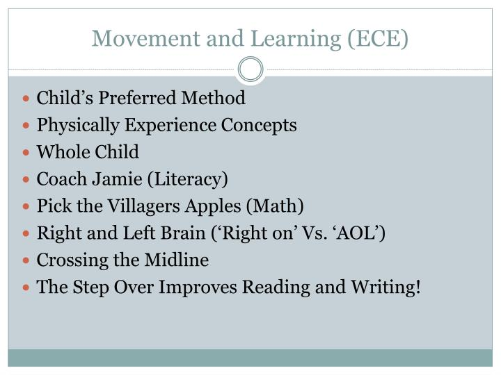 Movement and Learning (ECE)