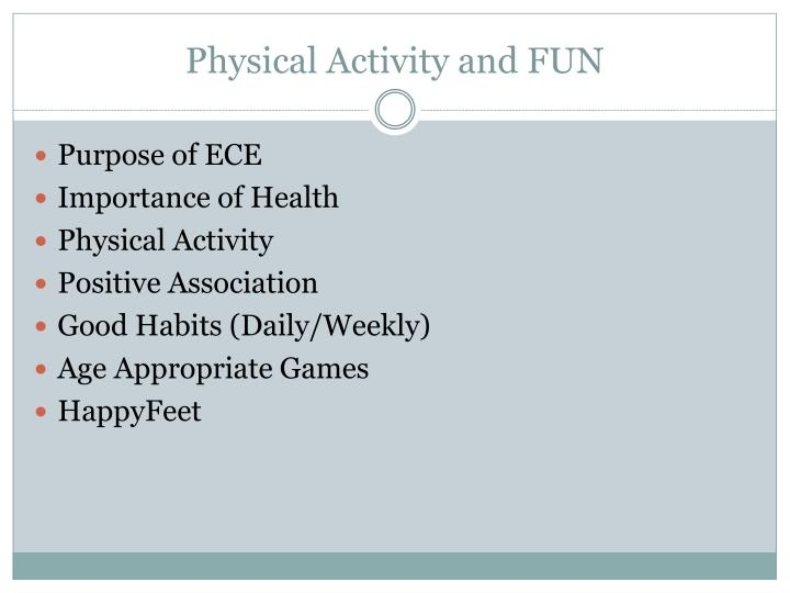 Physical Activity and FUN