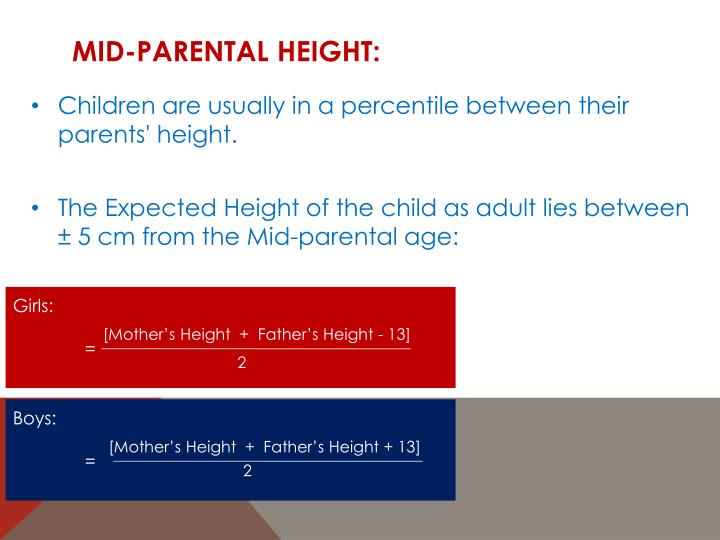 Mid-Parental Height: