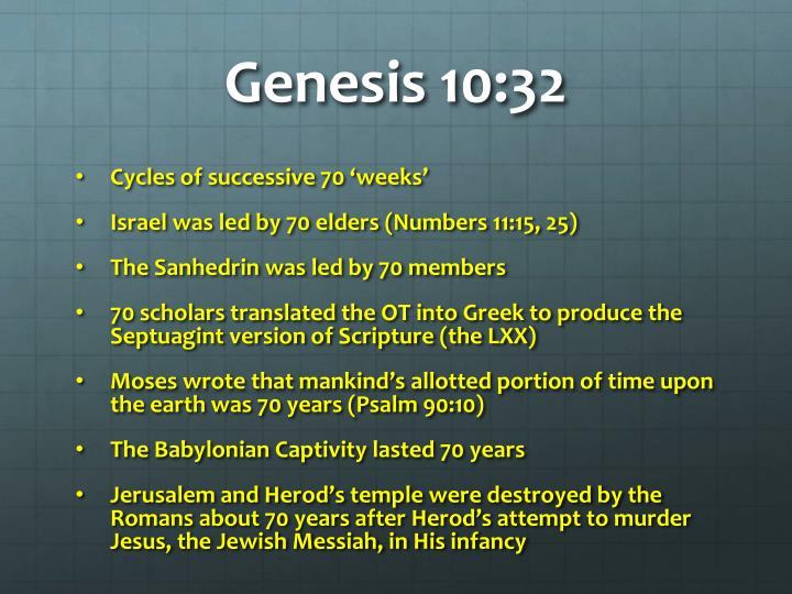 Genesis 10:32