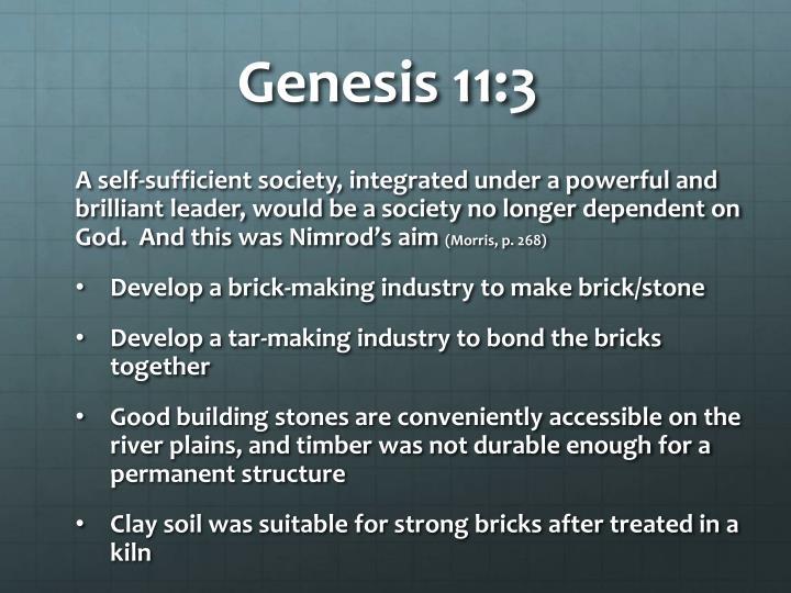 Genesis 11: