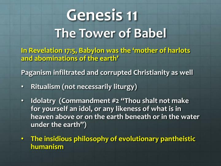 Genesis 11