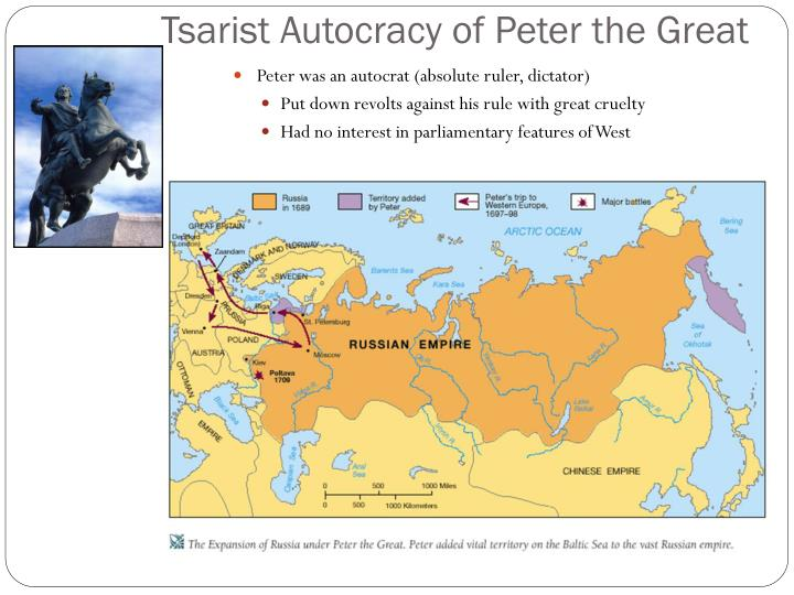 Tsarist Autocracy of Peter the Great