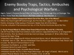 enemy booby traps tactics ambushes and psychological warfare15