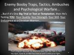 enemy booby traps tactics ambushes and psychological warfare19