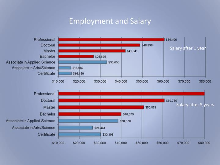 Employment and Salary
