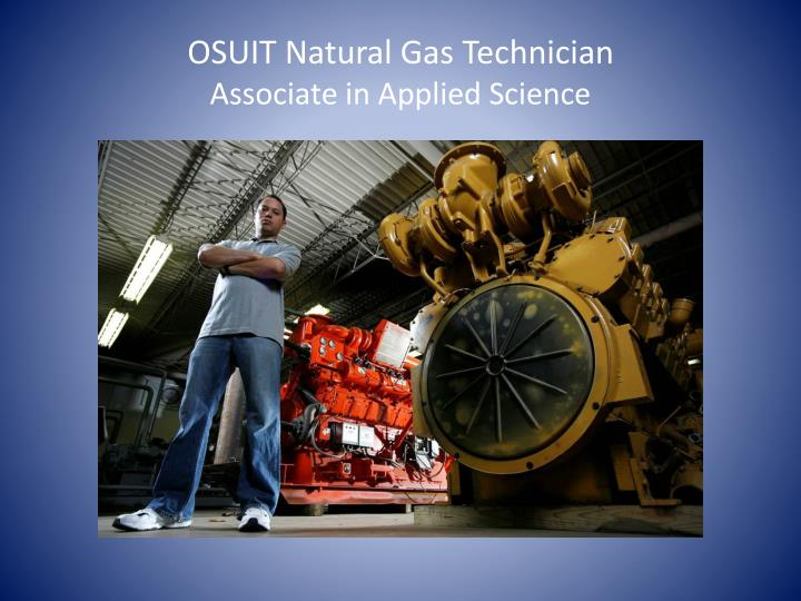 OSUIT Natural Gas Technician